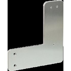 Plaque de montage pour portes à cadre tubulaire MPL-R