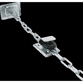 Gitterrostsicherung mit Kette GS 40