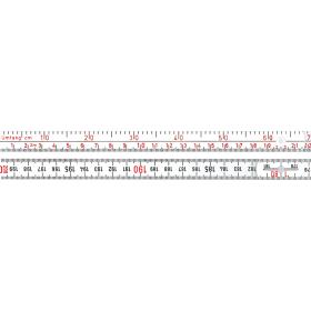 Mètre en mat. plastique avec graduation de  circonférence Longlife®  1662 Circonférence