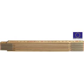 Holz-Gliedermeter natur 1202